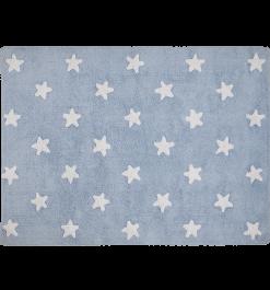Alfombra de estrellas azul. Lorena Canals.