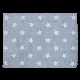 Alfombra Estrellas Azul. Lorena Canals.