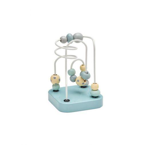 Mini Laberinto Mint Kidsconcept con piezas de madera.