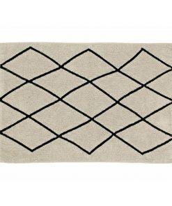 Increíble alfombra de algodón de Lorena Canals.