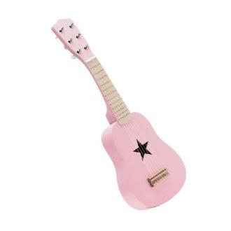 Guitarra rosa de Kidsconcept.