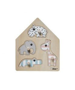 Puzzle Animales Donebydeer