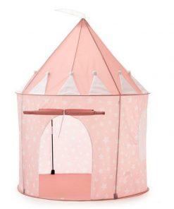 Tienda de juegos Kidsconcept rosa.