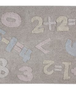 Alfombra Lavable Baby Numbers. Lorena Canals.