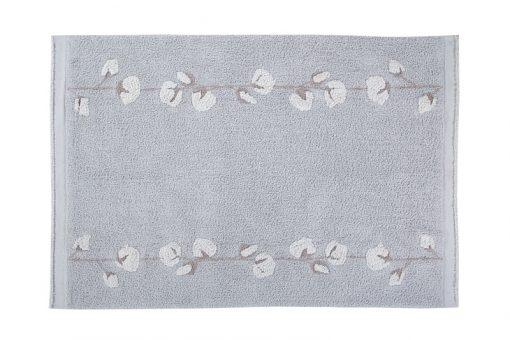 Alfombra Lavable Cotton Balls de Lorena Canals.