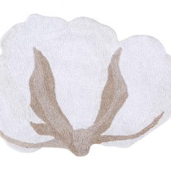 Alfombra Lavable Cotton Flowerde Lorena Canals Cotton Flower.