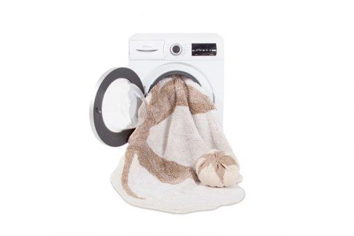 Alfombra lavable de Lorena Canals.