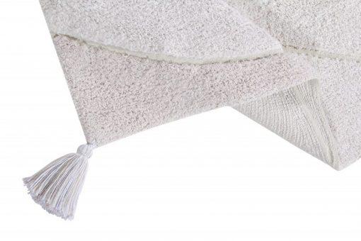 alfombra de algodón de Lorena Canals.