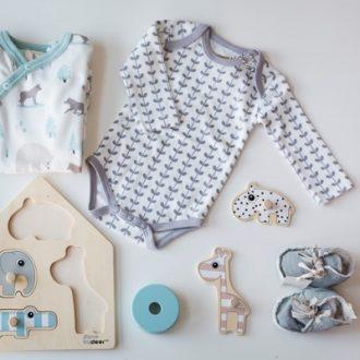 Pijamas y prendas naturales para bebés