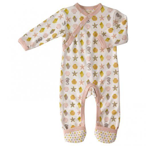 Pijama de algodón orgánico, para bebé.