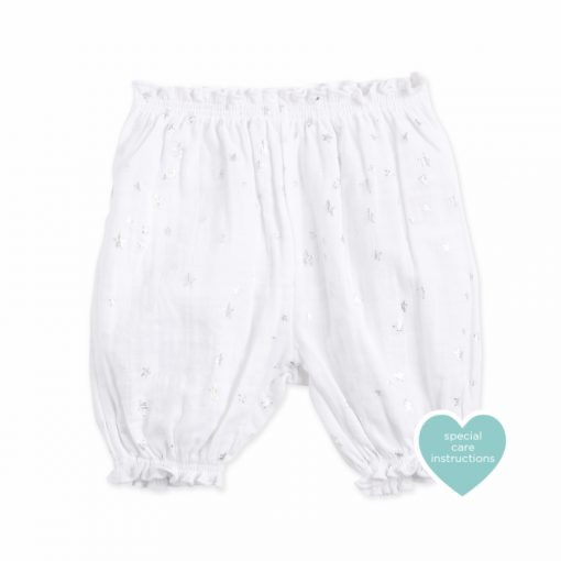 Bubble Short Metallic Star, ropa bebe algodon