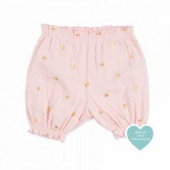 Pantalón de algodón para bebé.