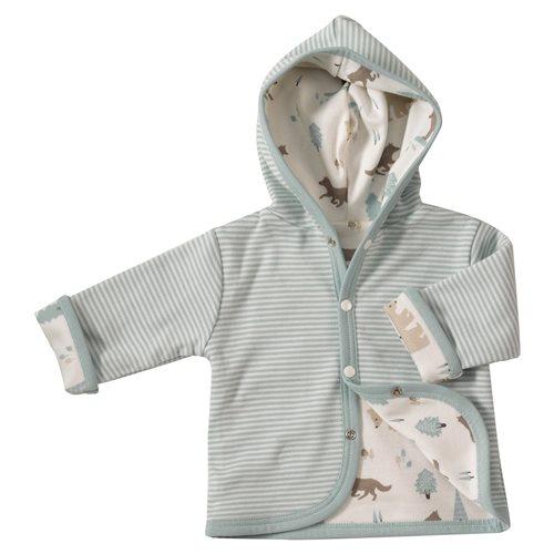 Chaqueta wolf algodón bebé,ropa de algodon para bebe