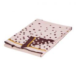 manta Done by Deer rosa de bebé en algdodón