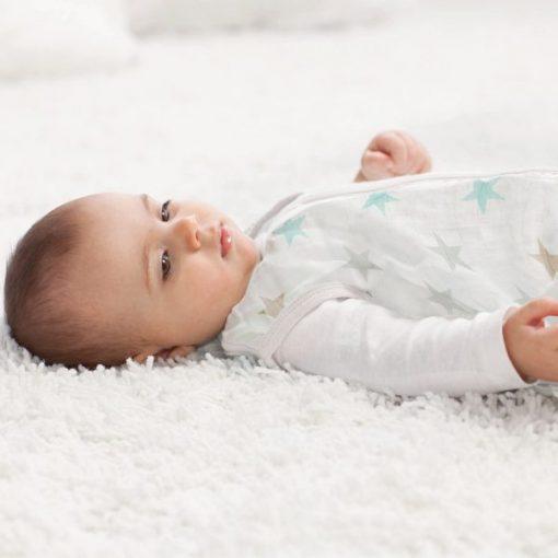 Saco Dormir Bebe de Muselina Bambú Aden Anais
