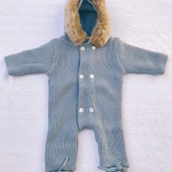 Buzo Bebé Mebi Azul