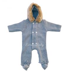 Buzo Bebé Mebi Azul Gris