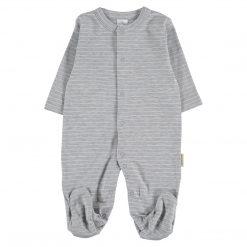Pijama Rayas Petit Oh! Grey
