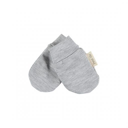 Manoplas Recién Nacido gris