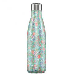 Botella Acero Peonías